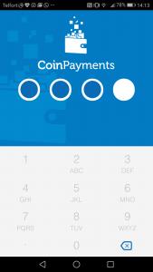 Coinpayments online wallet: mobiele app
