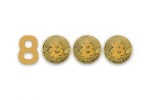 Bitcoin $8000