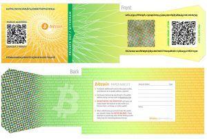 Offline wallet: bitcoin paper wallet