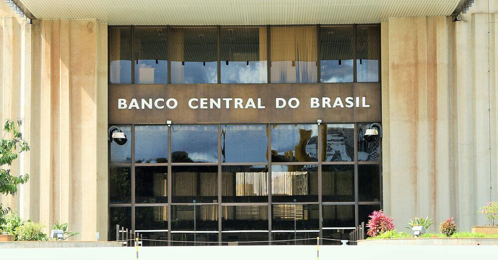 Foto van het hoofdkantoor van de Banco Central do Brasil