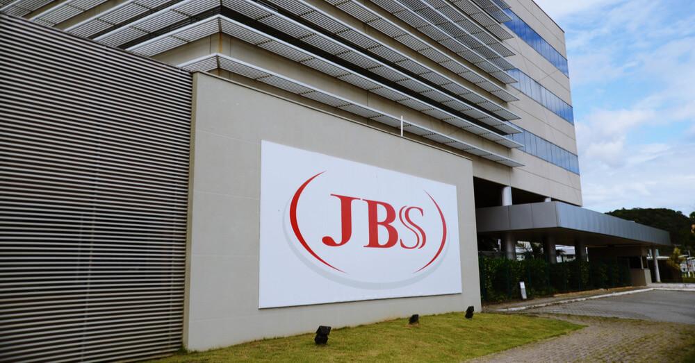 Een operationele eenheid van JBS SA in Itajaí, Zuid-Brazilië