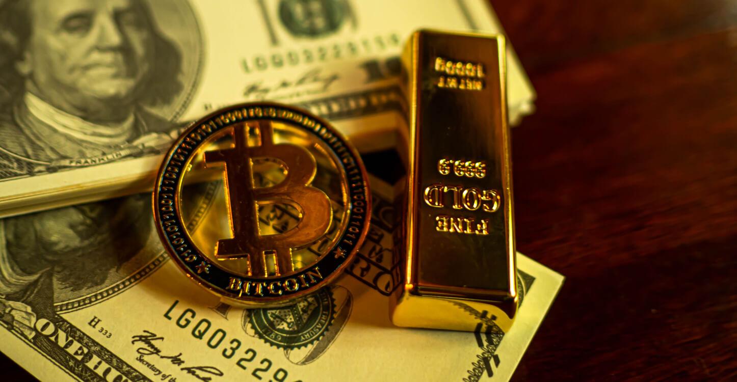 Investeerders kunnen zowel in Bitcoin als in goud investeren
